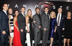 The Cavill family! Charlie, Nick, Piers and Henry (no Simon)