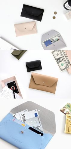 Un Jour De Chance Slim Pouch makes it so convenient for me to carry my passport, cards, money, and even my cell phone at the same time! With a luxurious look and stylish design, this slim pouch keeps all your small items together and easily fit in any of your bags or pouches!
