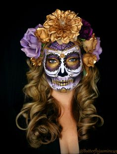 Sugar Skull Makeup Halloween