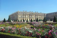 Versailles Palace and Garden - palace of old French Kings, where the treaty of Versailles was signed at the end of WWI.