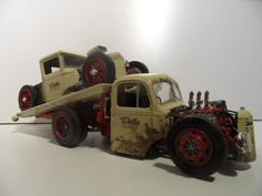 34 Ford truck and Bedford truck