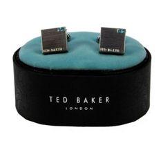 Ted Baker Clear Crystal Luskin Cufflinks £35