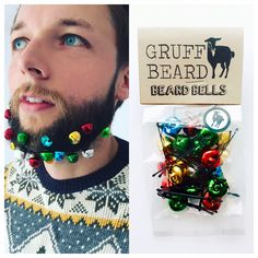 The Original Festive Beard Jingle Bell accessories by Gruff Beard As featured in the Metros 7 Ways to Decorate your Beard 2016 Perfect for Stocking Fillers, Secret Santa and Christmas nights out. Can be worn in hair and beard. 20 bells per pack. Buy with confidence from a leading UK beard brand. N/B Adult novelty gift. Not suitable for small children. http://metro.co.uk/2015/12/08/7-festive-ways-to-decorate-your-beard-this-christmas-5550220/   Shop this product here: spree.to/a33r   Shop all…