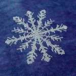 January Snowflake Finished by Tommye