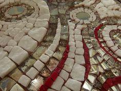 Shooting Stars  (detail) mosaic from  Eftychia Finou