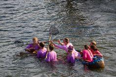 Turisedische Wettkämpfe - Disziplin Einbootum