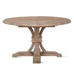 Archer Extending Dining Table - Round from Z Gallerie