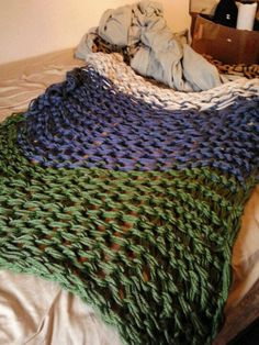 Making this right now! Kenny loves the blanket I finished for the couch!