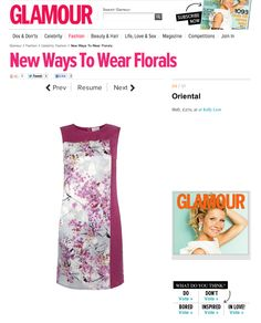 Glamour Magazine - All those who Wander Dress