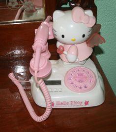 HELLO KITTY DIGITAL LANDLINE PHONE