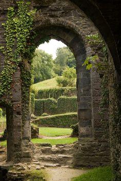 """Villers-la-Ville"" featuring the ruins of Villers Abbey in Villers-la-Ville, Brabant, Belgium. Photo by Rudi Imbrechts (kartix @ flickr.com) (© 2009)."