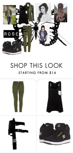 """""""Rose #20"""" by christiana-samuel on Polyvore featuring Mother, Solid & Striped and DC Shoes"""