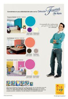 Múltiples combinaciones de colores
