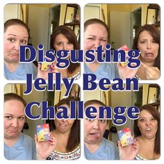 Disgusting Jelly Bean Challenge w/ Heather aka SassyHat (Harry Potter Be...