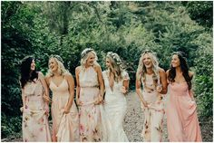 Floral bridesmaids dresses in all different styles to created a beautiful story on your wedding day South African Fashion, African Fashion Designers, Floral Bridesmaid Dresses, Wedding Dresses, Beautiful Stories, On Your Wedding Day, Different Styles, Bride Dresses, Bridal Wedding Dresses