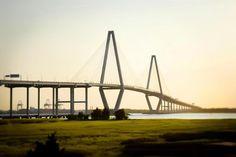 Wild Dunes Resort// The Ravanel Bridge in Charleston, SC