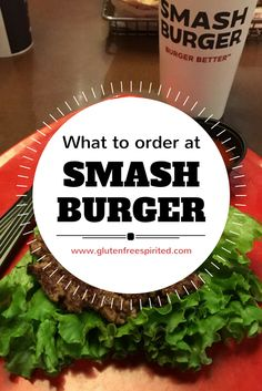 If you have dietary restrictions, but want a fancy burger, Smashburger may have some options for you.