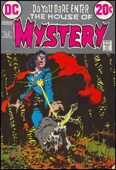 House of Mystery #211, February 1973. A classic cover by Bernie Wrightson. B.W. is such an influence on my own work.