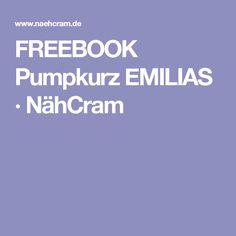 FREEBOOK Pumpkurz EMILIAS · NähCram