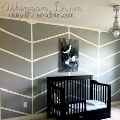 boys room-Simple Chevron Walls | Atkinson Drive