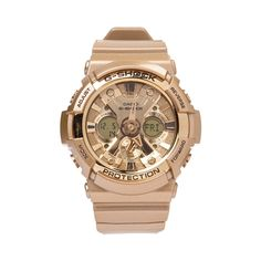Shop for Casio G-Shock GA200GD Watch in Gold at Journeys Shoes.
