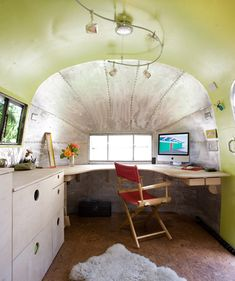 Omg, i would give anything.  Airstream camper craft or sewing space.
