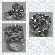 Aluminium Silver Ring