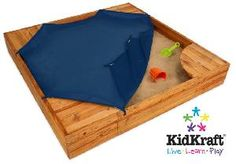 Wooden Sandbox - How hard could this really be to DIY. - make the cover