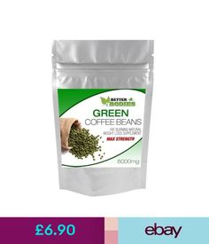 Weight Management Green Coffee Bean Extract Max Strength 6000Mg Weight Loss Slimming Fat Burn Pill #ebay #Fashion