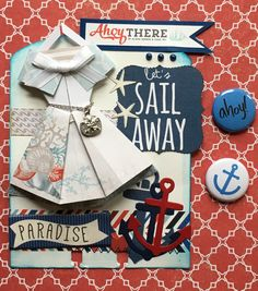 Nautical Memorydex Rolodex Card by Jackie Benedict