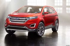 2016 Ford Edge 2.0 TDCi 210 passenger ride
