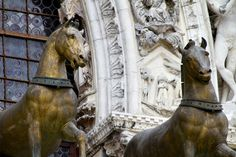 The Horses of St. Mark's | The bronze horses of St. Mark's Basilica, originally from Constantinople.
