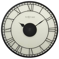 A stylish NeXtime design with the clock face on frosted glass so it looks like a stained glass window. Urban chic and retro come together in this clock design. When looking at this clock you think you are looking at the Big Ben in London.