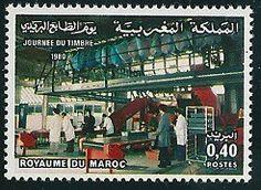 Postes Maroc, La journée du timbre.