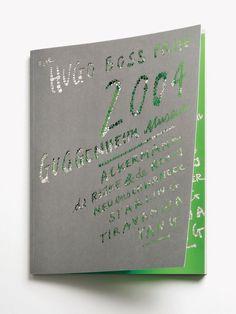 Laser cut. Hugo Boss Prize, Guggenheim   Sagmeister & Walsh