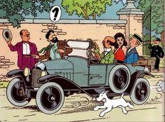 Le pique-nique de Tintin