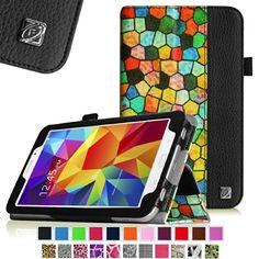 Fintie Stained Glass Mosaic-Style Folio Leather Case Cover for Samsung Galaxy Tab 4 8.0 inch Tablet - Black Fintie http://www.amazon.com/dp/B00KA4I7Z6/ref=cm_sw_r_pi_dp_rdIEub0NFXABX