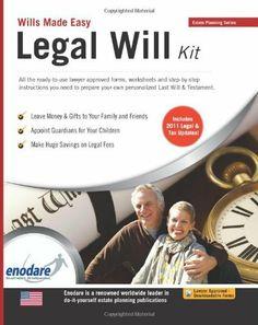 Legal Will Kit: Wills Made Easy by Enodare, http://www.amazon.com/dp/1906144397/ref=cm_sw_r_pi_dp_zWaRpb10PD22B
