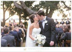Charcoal, Blush, Pink + Peach Wedding // Charleston Wedding at Lowndes Grove // Dana Cubbage Weddings // www.danacubbageweddings.com
