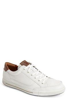 ECCO 'Eisner' Leather Sneaker (Men) available at #Nordstrom