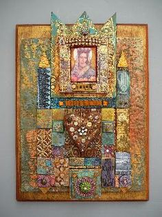Laurie Mika, one of my favorite mosaic artists.