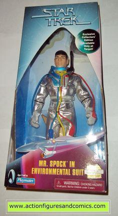 Star Trek SPOCK MR Environmental suit 9 inch playmates action figures moc mip mib