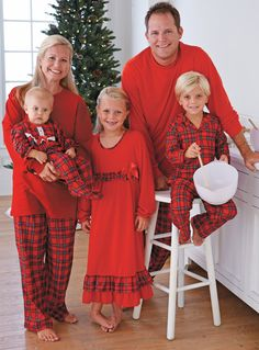 Plaid Family Sleepwear at CWDkids - ordered for my grandchildren Family  Holiday Pajamas 7c78f27c8