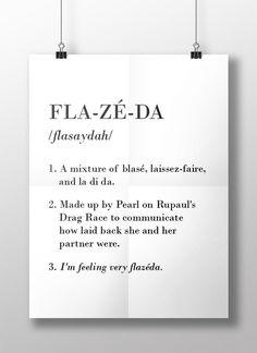 #rupaul #rupaulsdragrace #rpdr #drag #dragqueen #pearl #flazeda #quote #shade #movies #series #tvshows #decoração #decor #poster #quadro