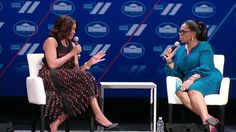 Michelle Obama & Oprah Winfrey at the WH Summit on the US of Women