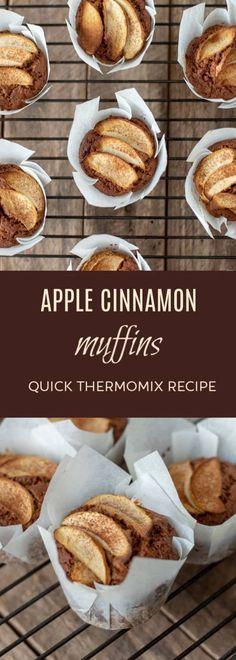 Thermomix Apple Cinnamon Muffins Thermomix Diva Thermomix Apple Cinnamon Muffins Thermomix Diva karen koh karen kohxj thermomix recipes A really simple and easy recipe for Apple nbsp hellip and cinnamon muffins Nutella Muffins, Apple Cinnamon Muffins, Cinnamon Apples, Apple Recipes, Sweet Recipes, Easy Recipes, Breakfast Crockpot Recipes, Dessert, How To Cook Eggs