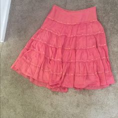 Cache pink skirt Great condition Cache Skirts A-Line or Full