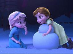 Elsa and Anna - Frozen Anna Y Elsa, Frozen Elsa And Anna, Disney Frozen Elsa, Frozen Movie, Frozen Games, Frozen Party, Frozen Birthday, Birthday Cake, Punk Disney