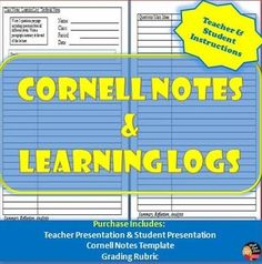 Cornell Notes Geography Population Patterns Europe  Cornell