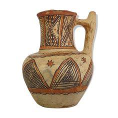 Pichet poterie kabyle berbère art populaire kabyle